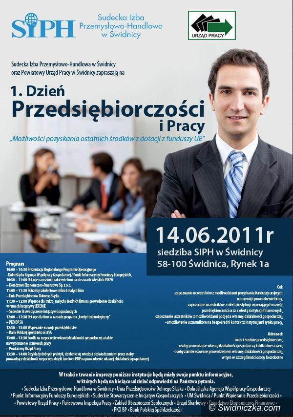 Świdnica: Dziś Dzień Przedsiębiorczości i Pracy