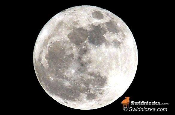 Świdnica: Dziś całkowite zaćmienie Księżyca