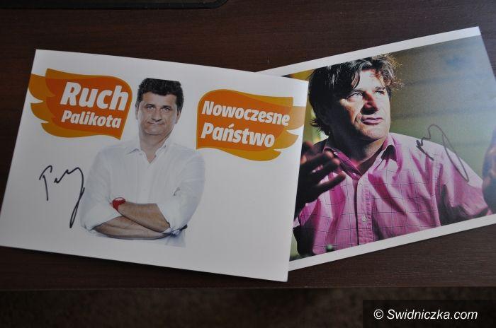 Świdnica: KONKURS: Wygraj zdjęcie z autografem Janusza Palikota