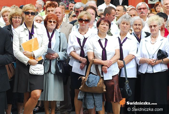 Świdnica: Procesja przeszła ulicami miasta