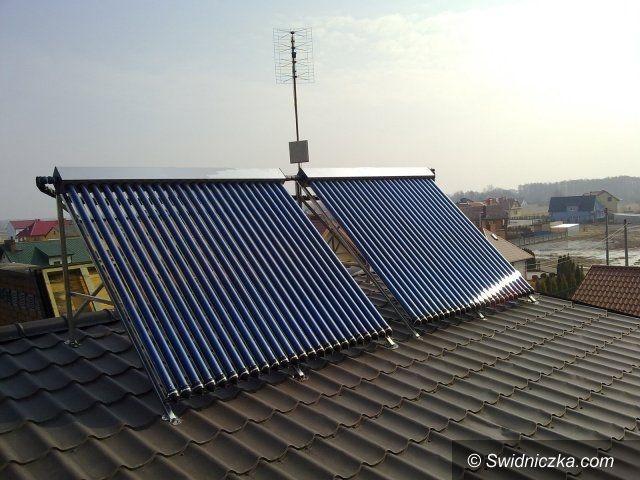 Świebodzice: Dotacje na zakup zestawów solarnych