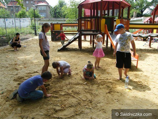 Świebodzice: Park przyjazny dzieciom