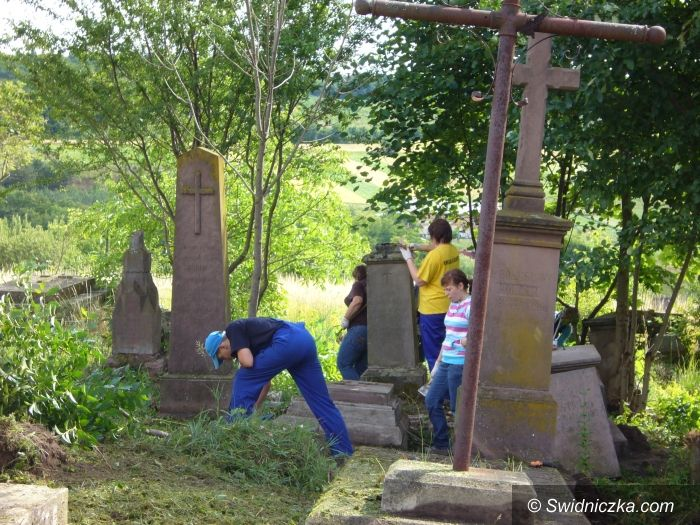 Świdnica/Ukraina: Ocalili mogiły od zapomnienia