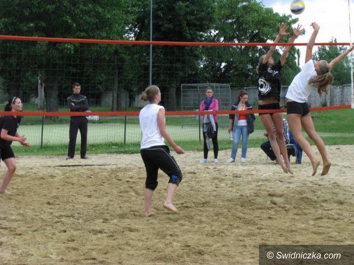 Świdnica: Świdnicki turniej plażówki po raz drugi
