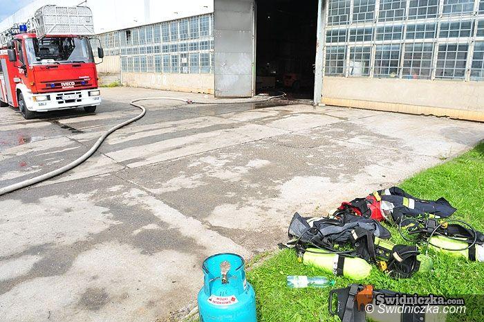 Świdnica: Spłonęła fabryka