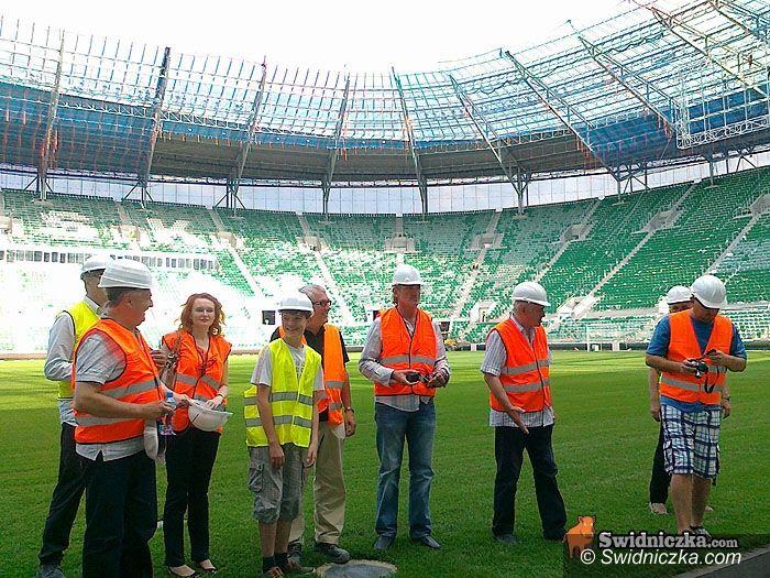 Wrocław: Świdniccy kupcy na wrocławskim stadionie