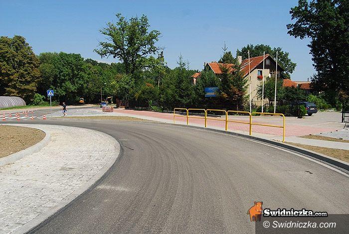 Świdnica: Rondem na Śląskiej już przejedziesz