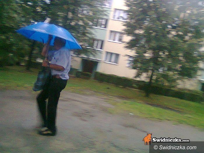 Świdnica: Nad Świdnicą przechodzą burze i ulewy [foto – video]