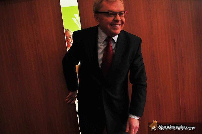 Świdnica: Zbigniew Chlebowski: Wyborcy mają prawo mnie ocenić! [FOTO,VIDEO]
