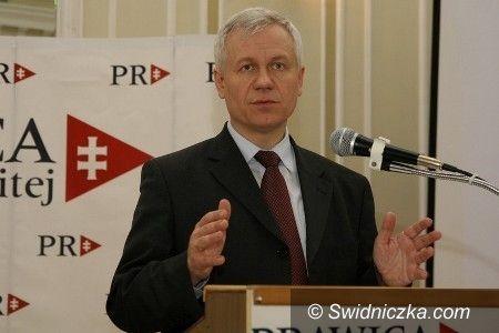 Świdnica: Marek Jurek dziś w Świdnicy ogłosi listy Prawicy Rzeczpospolitej