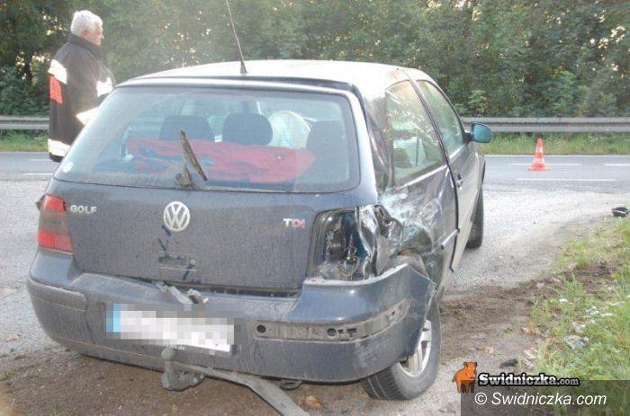 Siodłkowice: Groźny wypadek na trasie Siodłkowice – Dobromierz