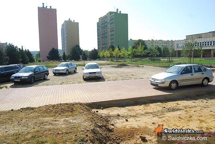 Świdnica: Nowy parking na Osiedlu Młodych