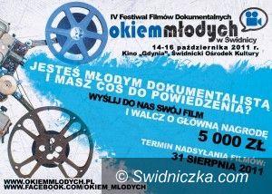 """Świdnica: Tomasz Wolski na festiwalu """"Okiem Młodych"""""""