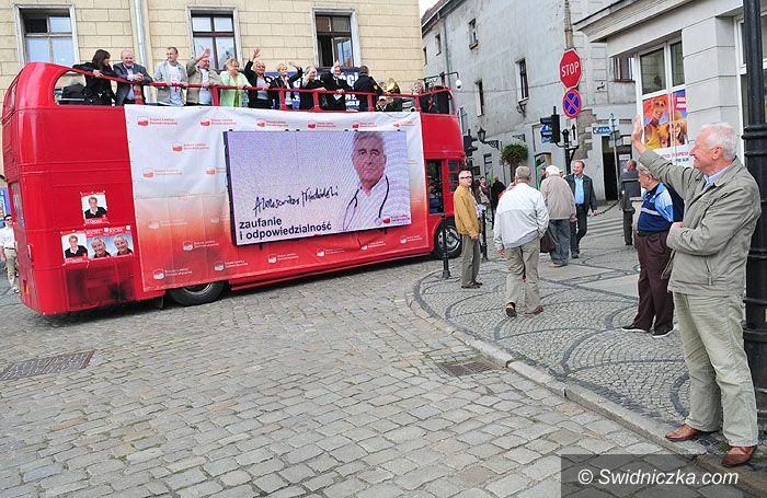 Świdnica: SLD autobusem do wyborów