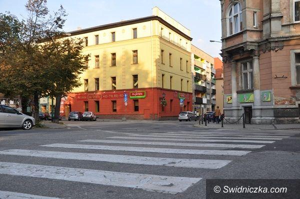 Świdnica: Skrzyżowanie ulic Żeromskiego, Zamkowej i Kotlarskiej do remontu