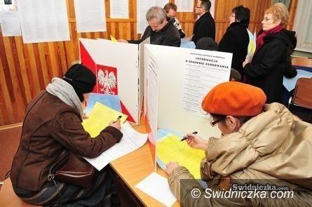 Świdnica: Niepełnosprawni wyborcy do jutra mają czas