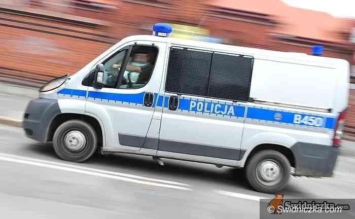 Świdnica: Trzech rabusiów okradło kuriera, nie uciekli zbyt daleko