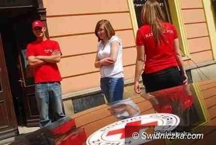 Świdnica: Z puszkami wyjdą na ulice