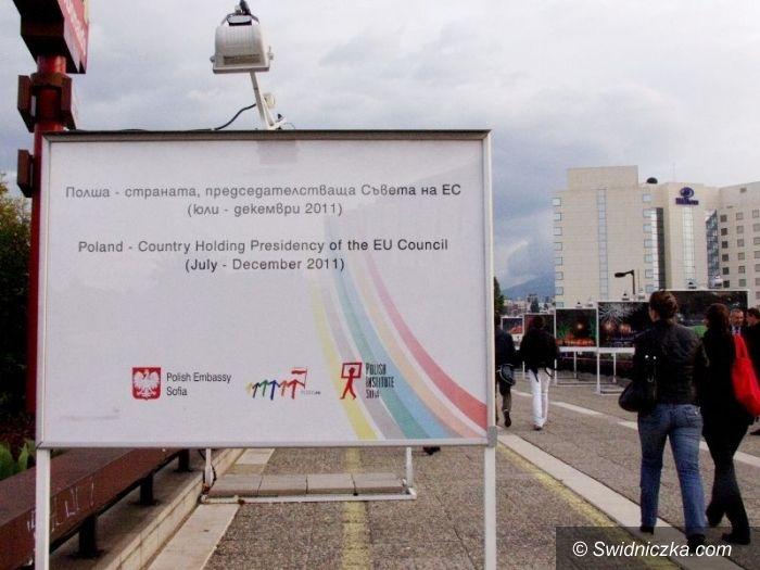 Świdnica/Sofia: Świdnicka świątynia na fotografii w ramach prezydencji