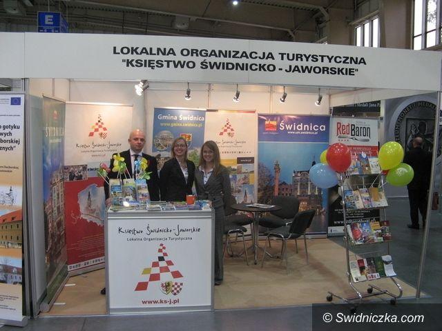Poznań: Powiat świdnicki prezentował się na poznańskich targach