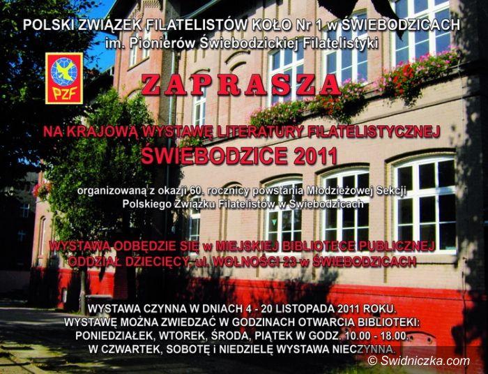Świebodzice: Krajowa wystawa literatury filatelistycznej