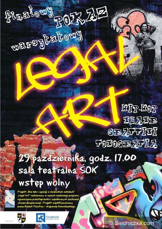 Świdnica: Już jutro LEGAL ART