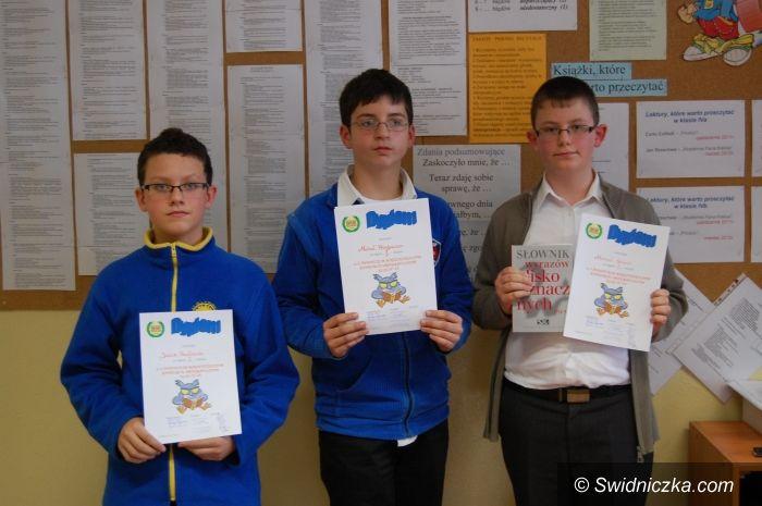 Świdnica: X Świdnicki Międzyszkolny Konkurs Ortograficzny