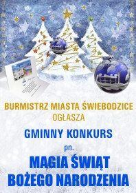"""Świebodzice: Gminny konkurs """"Magia Świąt Bożego Narodzenia"""""""