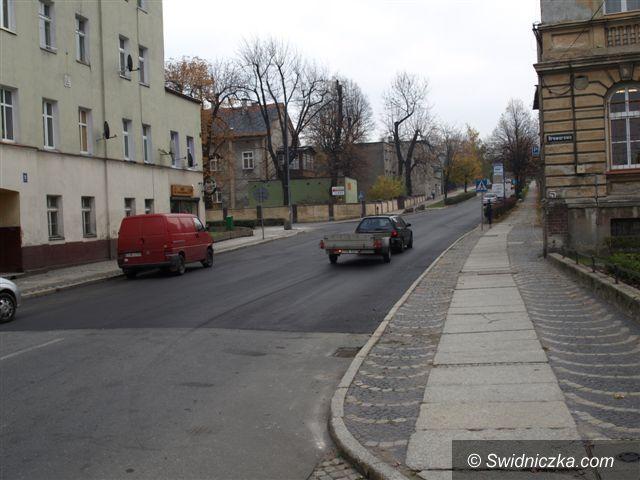 Świebodzice: Ulica Świdnicka w Świebodzicach wyremontowana