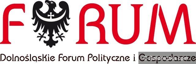 Krzyżowa: XIII DOLNOŚLĄSKIE FORUM POLITYCZNE I GOSPODARCZE