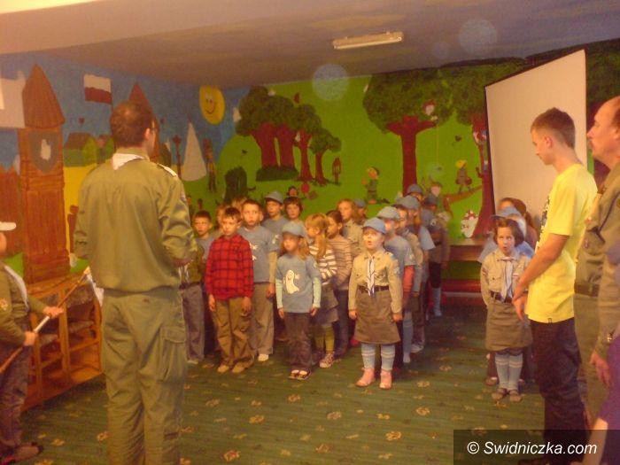 Świdnica: Leśne Duszki czyli pasowanie na zucha