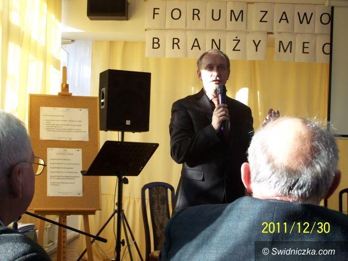 """Świdnica: Forum zawodowe w """"Mechaniku"""""""