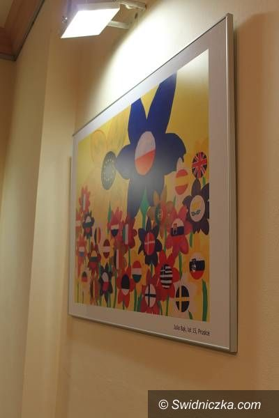 REGION, Świebodzice: Prezydencja Polski w Radzie UE na plakacie