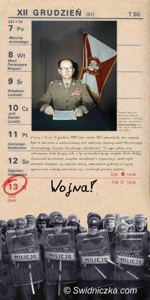 Polska/ Świdnica: Niedziela bez Teleranka– 13 grudnia 1981r
