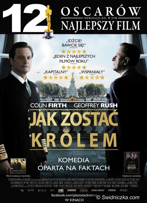 Świdnica: Oscarowy film już niedługo w Miejskiej Bibliotece Publicznej