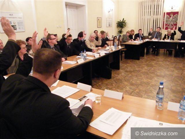 Świdnica: Budżet na 2012 rok w Świebodzicach uchwalony