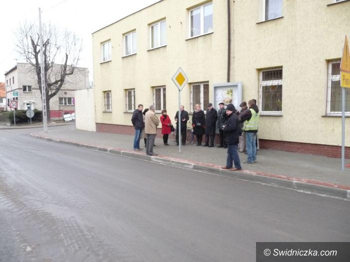 Marcinowice/ Klecin: 2 km nowej nawierzchni na trasie Marcinowice–Klecin