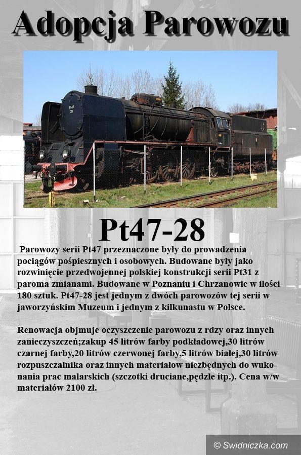 Jaworzyna Śląska/ Świdnica: Adoptuj parowóz– akcja muzeum