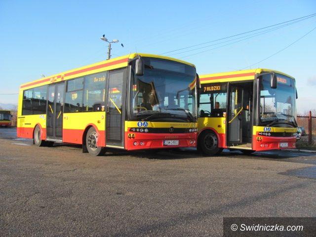 Świdnica: Nowe autobusy w MPK