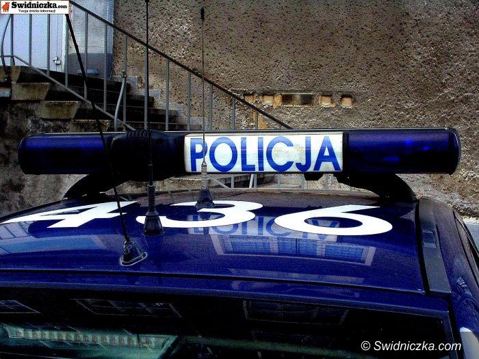 Boleścin: Przewrócona ciężarówka przez wiatr