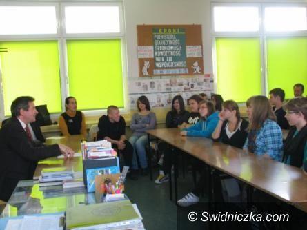 Świdnica: Międzynarodowe lekcje z gimnazjalistami