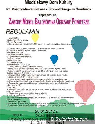 Świdnica: Balonowe zawody przy SP 1