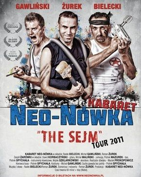 Świdnica: The Sejm tour– kabaret Neo–Nówka