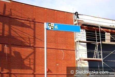 Świdnica: Pierwszy etap konkursu na nazwę ulicy zakończony