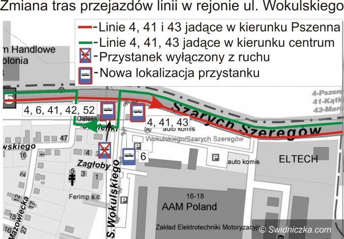 Świdnica: Przystanek w nowym miejscu