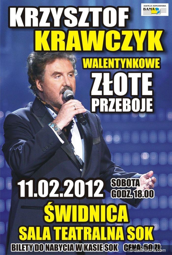 Świdnica: Krzysztof Krawczyk – walentynkowe złote przeboje