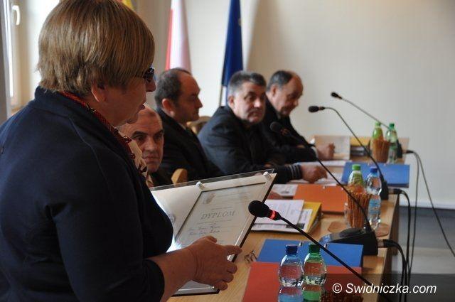 Gmina Świdnica: Gimnazjaliści otrzymali medal