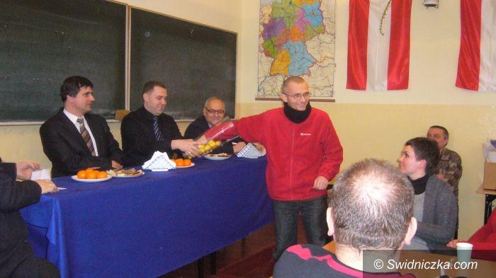 Gmina Żarów: Nagrody dla krwiodawców