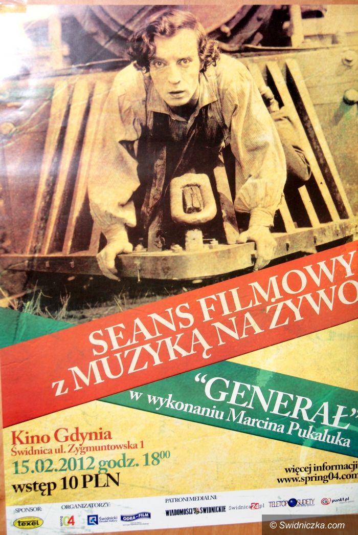"""Świdnica: Film """"Generał"""" z muzyką na żywo"""