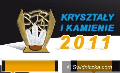 Świdnica/ Wałbrzych: Nominacja min. dla Starostwa Świdnickiego i Wojciech Murdzka– Kryształy i Kamienie 2011